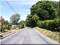 TG0329 : Melton Road, Hindolveston by Adrian Cable