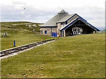 SH7783 : Halfway Station, Great Orme Tramway by David Dixon