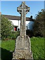 SX2160 : War Memorial - Herodsfoot Thankful Village by Rob Farrow