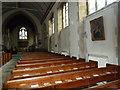 SU4320 : St. Boniface Church on Hursley Road: pews by Basher Eyre