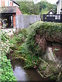 TQ4468 : The Kyd Brook north of Birchwood Road, BR5 by Mike Quinn