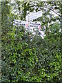 TG0626 : Guestwick Roadsign by Adrian Cable