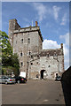 NN8418 : Drummond Castle Keep and Entrance by Martin Addison
