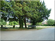 SU5707 : Wickham Road Cemetery (19) by Basher Eyre