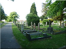 SU5707 : Wickham Road Cemetery (20) by Basher Eyre
