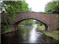 SJ5582 : Old Norton Townfield Bridge 74 by Mike Todd