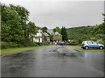 SH7357 : Car Park and Cafe by David Dixon