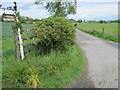 NZ2022 : Road to Blue House Farm from the A68 by peter robinson