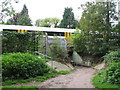 TQ4468 : Pedestrian tunnel under the railway east of St. Mary Cray Junction (2) by Mike Quinn