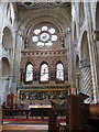 TL3800 : Waltham Abbey church, nave looking east by Stephen Craven