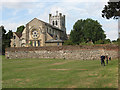TL3800 : Waltham Abbey ruins by Stephen Craven