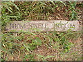 TM3050 : Bromeswell Hollow Sign by Adrian Cable