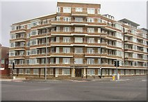 TQ2804 : Viceroy Lodge - Hove Street by Sandy B