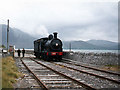Q7215 : Steam locomotive at Fenit by The Carlisle Kid