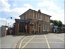 TQ4088 : Snaresbrook underground station by Stacey Harris
