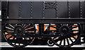 J3272 : Train sculpture, Belfast (3) by Albert Bridge