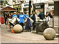 SJ8398 : Steel Band by David Dixon