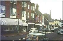 TQ3024 : High Street (B2036), Cuckfield in 1967 by John Baker