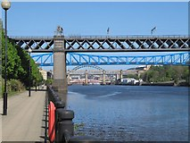 NZ2463 : Bridges on the Tyne by Bill Nicholls