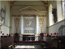 ST6834 : Chancel, St Mary's Church, Bruton by nick macneill