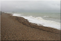 TQ2804 : Grey day on Hove beach by Sandy B
