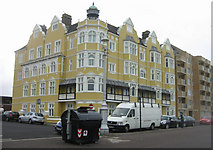 TQ2804 : Flats on King's Esplanade - Hove by Sandy B