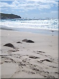 SW3526 : The beach at Sennen Cove by Rod Allday