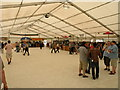 TL4559 : A quiet moment in the Beer Festival by Keith Edkins