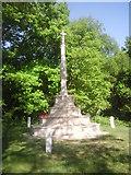 TQ2273 : Roehampton War Memorial by Marathon