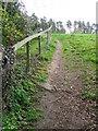 SE2686 : Footpath, Firby by Maigheach-gheal