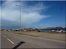 NZ4057 : Small boats Hudson Dock, Sunderland by Alexander P Kapp
