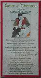 "B9130 : Poem by Cathal Ã"" Searcaigh, Gortahork (1) by Kenneth  Allen"