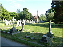 SU5707 : Wickham Road Cemetery (39) by Basher Eyre