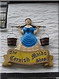 SX2051 : The Cornish Maids Shop by Philip Halling