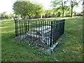 NZ4057 : The Hudson Grave, St Peter's Church, Monkwearmouth by Alexander P Kapp