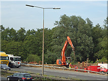 TQ5781 : Maintaining Capability Brown on the M25, Belhus by Roger Jones