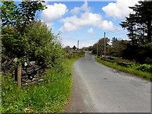 B9230 : Road near Calhame by Kenneth  Allen