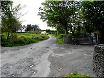 B9230 : Road at Calhame by Kenneth  Allen