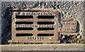 J4874 : Gully grating, Newtownards by Rossographer