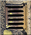 J4973 : Gully grating, Newtownards by Rossographer