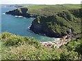 SW9881 : Coast near Pine Haven by Derek Harper
