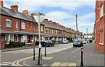 J3673 : Grace Avenue, Belfast by Albert Bridge