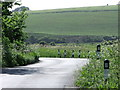 TV5199 : Minor road in Cuckmere Valley by nick macneill