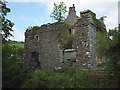 SD6188 : Ruined pele tower, Killington Hall by Karl and Ali