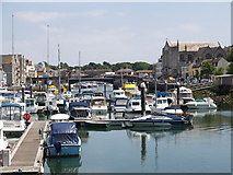 SY6778 : Weymouth Marina and Harbour by Adrian King