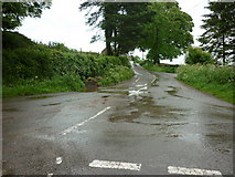 SK2652 : Callow Lane from Stainsborough Lane by Ian S