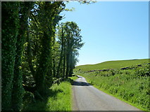 NX0983 : B7044 Mains Road to Ballantrae by Andy Farrington