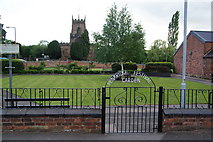 SJ9214 : Penkridge Festival Garden by Bill Boaden