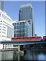 TQ3780 : Heron Quays, London Docklands by Malc McDonald