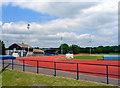 SP5604 : Horspath Athletics Ground by Des Blenkinsopp